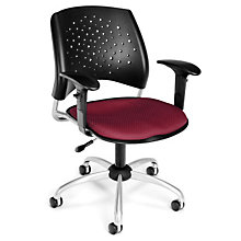 Stars Task Chair with Arms, OFM-326-AA3