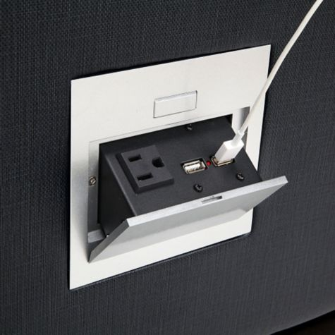 Guests can easily recharge devices