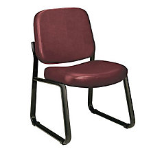 Vinyl Armless Guest Chair, 8827997