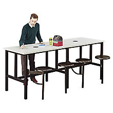 Endure Standing Height Table with Four Swivel Seats , 8827792