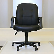 Leather Conference Chair, OFM-505-LS