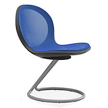 Net Series Armless Chair with Circular Base, OFM-N201