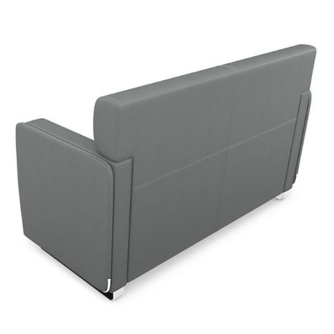 Back of sofa shown in Slate
