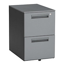 Two Drawer Mobile File Pedestal, OFM-66200