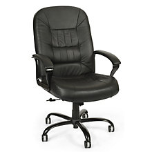 800 Series Big and Tall Leather Chair, OFM-800L