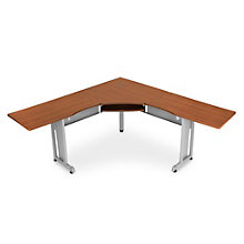"Chiantello L-Shaped Workstation - 72""W x 72""D , 8802002"