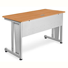 "Chiantello Desk with Modesty and Side Panels - 48""W x 24""D, 8802095"