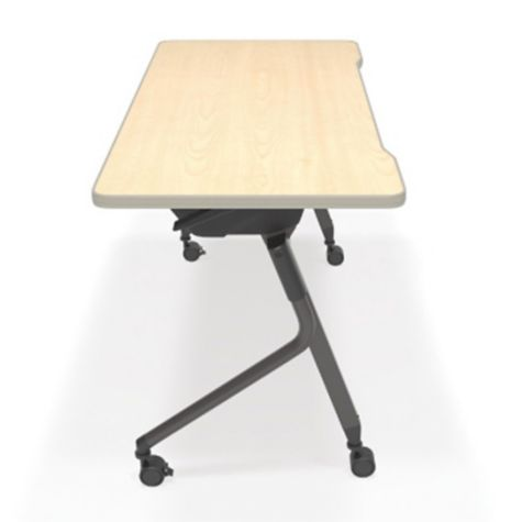 Side view shown with Maple Table Top