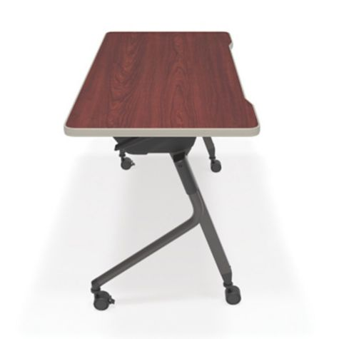 Side view with Cherry Table Top