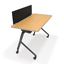 "Mesa Nesting Training Table with Privacy Panel - 47""W x 23""D , 8804319"