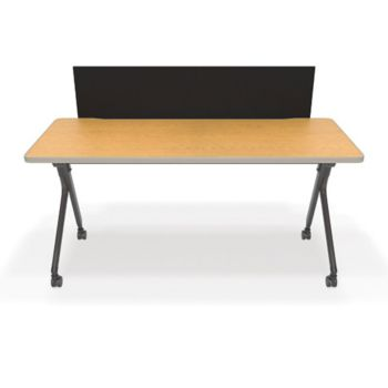Mesa Nesting Training Table Privacy WxD OfficeFurniturecom - Ofm training table