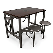 Endure Standing Height Table with Four Swivel Seats, 8827794