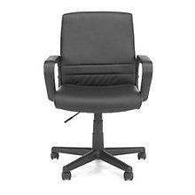Essentials Mid-Back Vinyl Conference Chair with Square Back, 8810591
