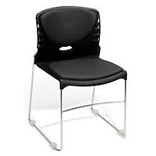 Sled Base Vinyl Stack Chair, 8810598