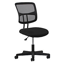 Essentials Armless Mesh Fabric Seat Task Chair, 8806869