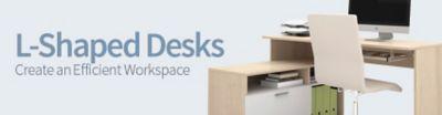 L Shaped Desks Corner Desk Furniture OfficeFurniturecom