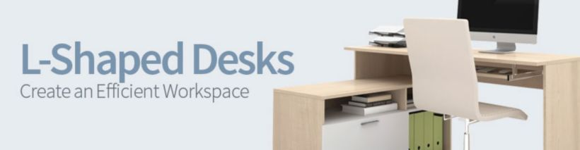 L Shaped Desks  Corner Desk Furniture  OfficeFurniturecom