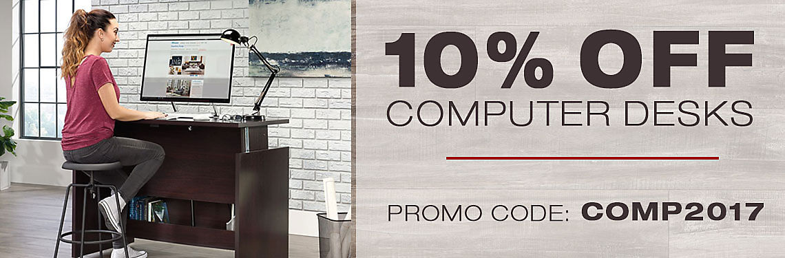 10% Off Computer Desks