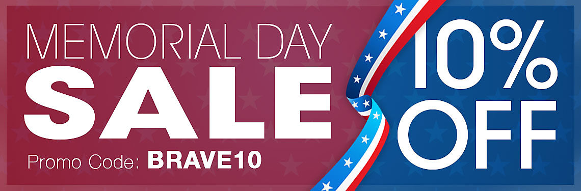 10% Off Memorial Day Sale