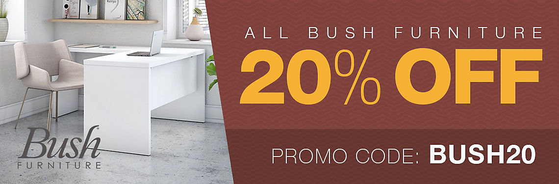 Save 20% on Bush products