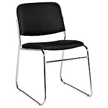 Burleigh Sled Base Fabric Armless Stack Chair, 8814058