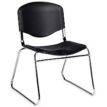 Burleigh Sled Base Plastic Armless Stack Chair, 8814059
