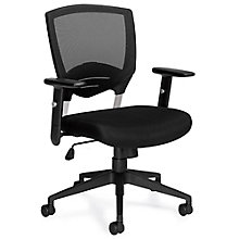 Atwater Mesh Back Task Chair with Titanium Accents, 8814073