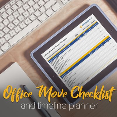 Office Move Checklist & Timeline Planner Template