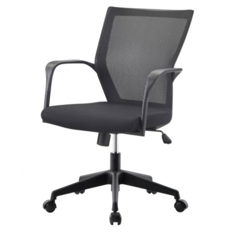 Shown With Black Fabric Seat