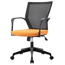 Bozano Task Chair  With Mesh Back and Fabric Seat, 8802167