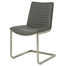 Emma Cantilever Armless Guest Chair in Faux Leather, 8803242
