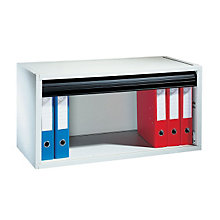 Tambour Door Desktop Storage Cabinet, PAF-490201