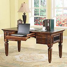 "Leonardo Renaissance Style Writing Desk - 61.25""W, 8814528"