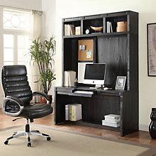 "Hudson Minimalist Desk with Hutch - 63""W, 8805003"