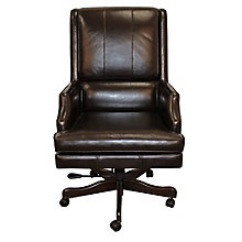 Prestige Leather Desk Chair, 8814542