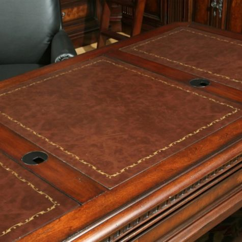 View of inlaid top
