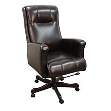 Prestige Desk Chair in Leather, 8803785