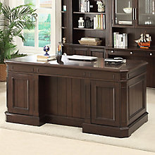 "Stanford Double Pedestal Desk - 66""W, 8803791"