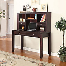 "Boston Writing Desk with Hutch - 47.625""W, 8804165"