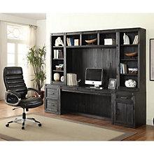 "Hudson Storage Desk with Hutches - 105""W, 8805007"