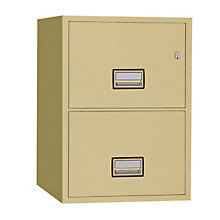 "Fireproof Two Drawer Vertical File - 31"" D, PHS-LTR2W31"