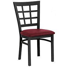 Grid-Back Break Room Chair, PHX-170BK