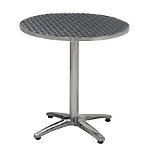 Stainless Steel Round Outdoor Dining Table, PHX-LR28RDCMX