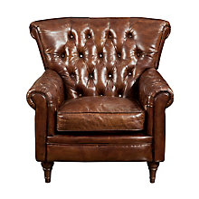 New Castle Club Chair Brown, 8809194