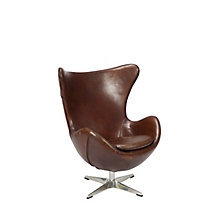 St Anne Club Chair Brown, 8809196
