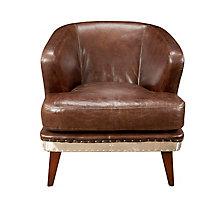 Preston Club Chair Brown, 8809202
