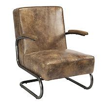 Perth Club Chair Light Brown, 8809206