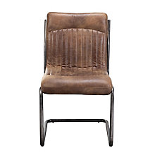 Ansel Armless Leather Chair , 8809220