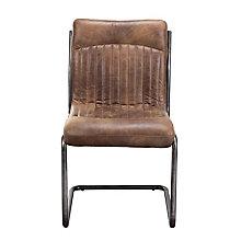 Ansel Armless Leather Chair , 8809220