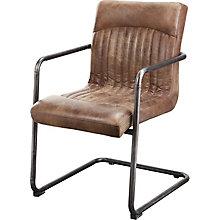 Ansel Arm Chair - Light Brown , 8809229